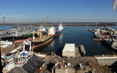 International Ships Repaired at Detyens Shipyards