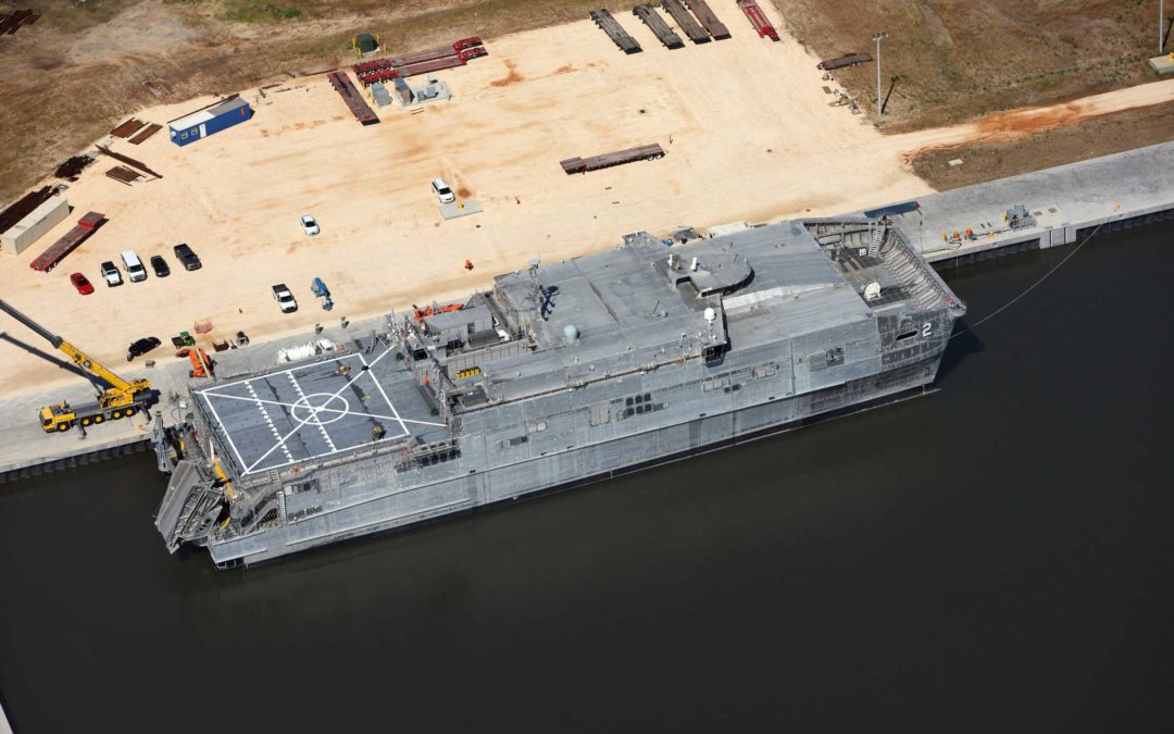 Detyens Shipyards  awarded a overhaul of Spearhead USNS Choctaw (JHSV 2)