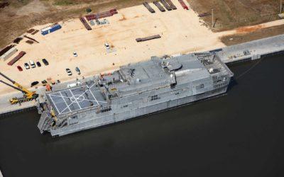 Detyens Shipyards  awarded a overhaul of Spearhead USNS Choctaw (JHSV 2)