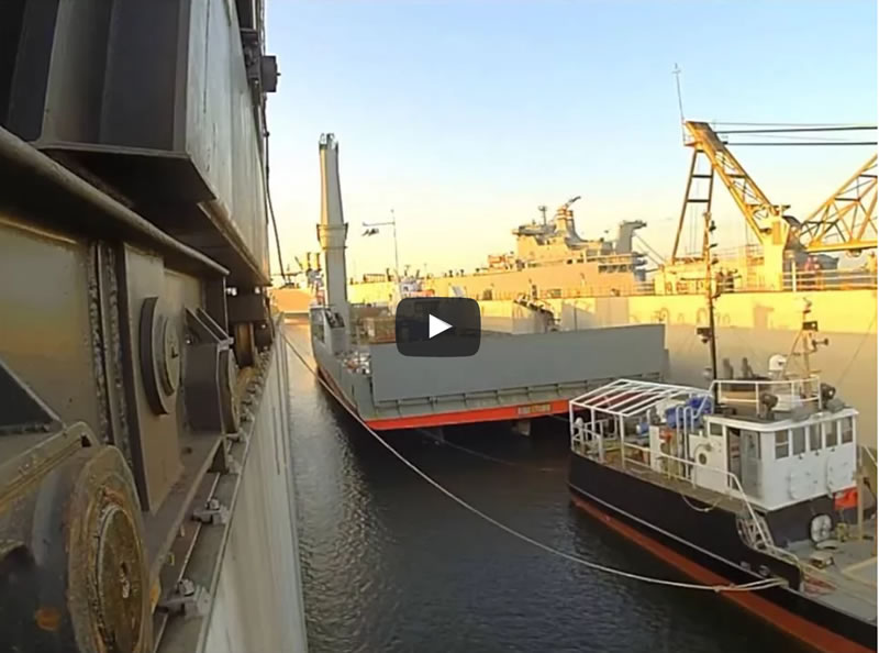 Tropic Knight & USCG Bayberry drydocking at Detyens Shipyards